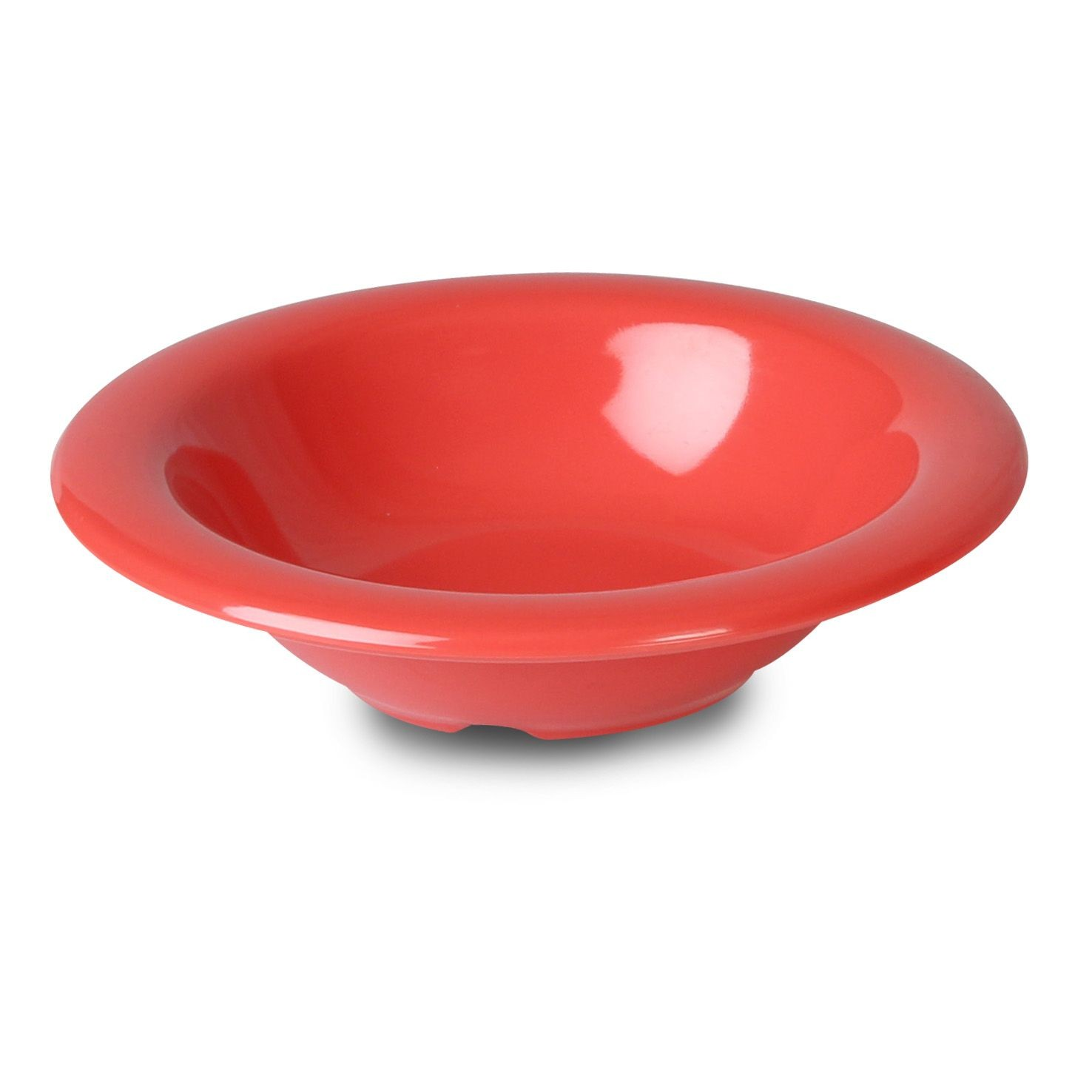 Thunder Group CR5608RD Red Salad Bowl 8 oz. - 1 doz
