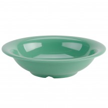 Thunder Group CR5716GR Green Melamine Soup Bowl 18 oz. - 1 doz