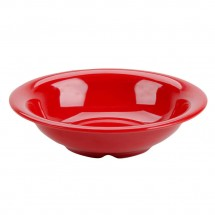 Thunder Group CR5716PR Pure Red Melamine Soup Bowl 18 oz. - 1 doz