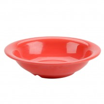 Thunder Group CR5716RD Orange Melamine Soup Bowl 18 oz. - 1 doz