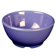 "Thunder Group CR5804BU Purple Melamine Soup Bowl 10 oz., 4-5/8"" Dia. - 1 doz"