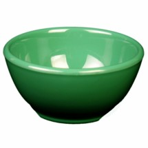 "Thunder Group CR5804GR Green Melamine Soup Bowl 10 oz., 4-5/8"" Dia  - 1 doz"