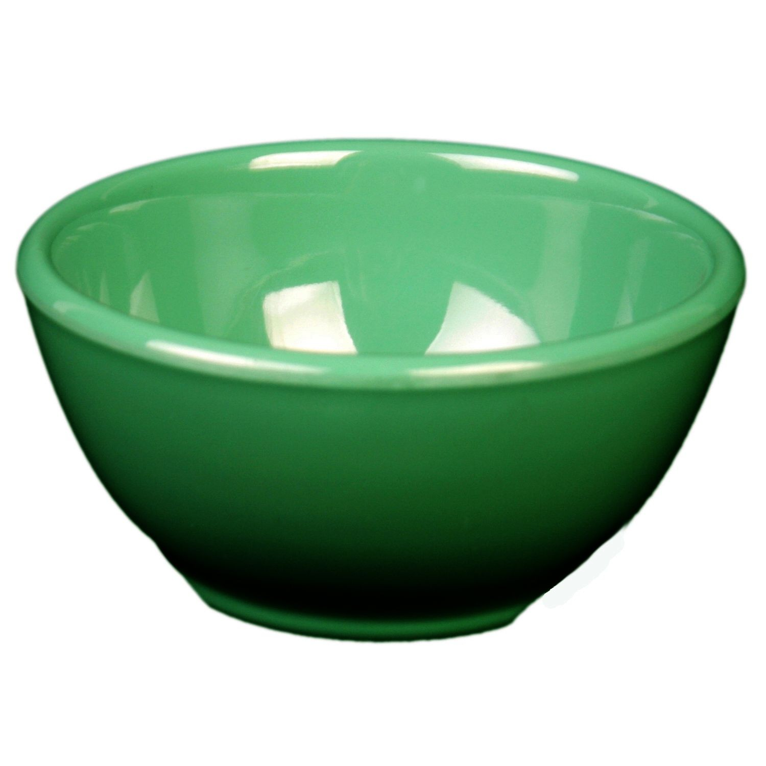 Thunder Group CR5804GR Green Soup Bowl 10 oz. - 1 doz