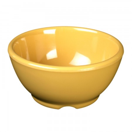 Thunder Group CR5804YW Yellow Melamine Soup Bowl 10 oz. - 1 doz.