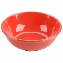 Thunder Group CR5807RD Orange Melamine Salad Bowl 32 oz. - 1 doz