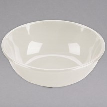 Thunder Group CR5807V Ivory Melamine Salad Bowl 32 oz. - 1 doz