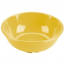 Thunder Group CR5807YW Yellow Melamine Salad Bowl 32 oz. - 1 doz
