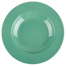 Thunder Group CR5811GR Green Melamine Pasta Bowl 16 oz. - 1 doz