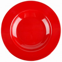 Thunder Group CR5811PR Pure Red Melamine Pasta Bowl 16 oz. - 1 doz