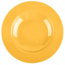 Thunder Group CR5811YW Yellow Melamine Pasta Bowl 16 oz. - 1 doz