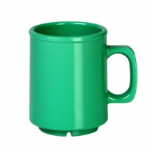 Thunder Group CR9010GR Green Melamine Mug 8 oz. - 1 doz