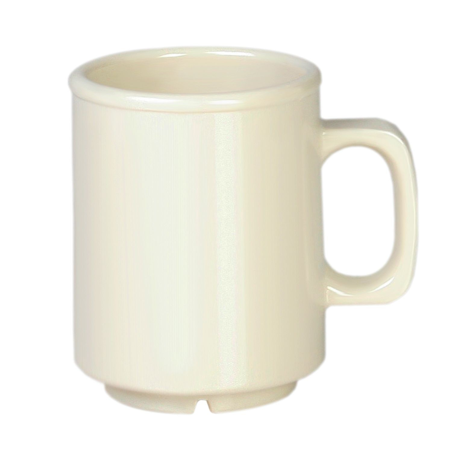 Thunder Group CR9010V Ivory Melamine Mug 8 oz. - 1 doz