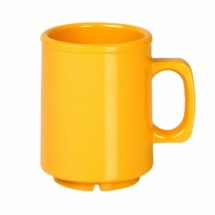 Thunder Group CR9010YW Yellow Melamine Mug 8 oz. - 1 doz