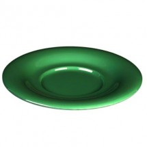 "Thunder Group CR9108GR Green Melamine 5-1/2"" Saucer For CR308, CR5044, ML901, ML9011 - 1 doz"