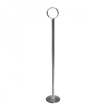 "Thunder Group CRTCH008 Chrome Table Card Stand 8"" - 1 doz"