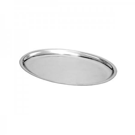 """Thunder Group IRSP1108 Oval Sizzling Platter 11-5/8"""" x 8"""" - 1 doz"""