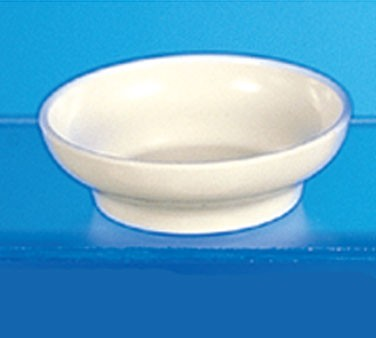 Thunder Group ML351B Salsa Dish, Bone 4.5 oz. - 1 doz