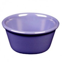 Thunder Group ML536BU Blue 2.5 oz. Smooth Ramekin - 4 doz
