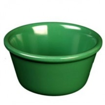 Thunder Group ML536GR Green 2.5 oz. Smooth Ramekin - 4 doz
