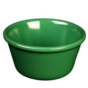 Thunder Group ML536GR Green Smooth Ramekin 2.5 oz. - 4 doz