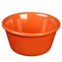 Thunder Group ML536RD Red 2.5 oz. Smooth Ramekin - 4 doz