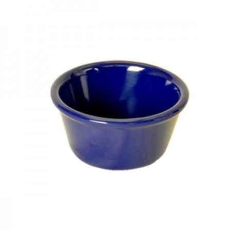 Thunder Group ML539CB1 Smooth Cobalt Blue Ramekin,  6 oz. - 6 doz