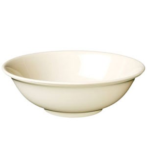 Thunder Group NS5065T Tan Nustone Rimless Bowl 32 oz.- 1 doz