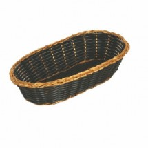 Thunder Group PLBB850G Oblong Basket / Gold - 1 doz