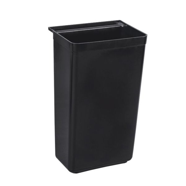 Thunder Group PLBC0013B Plastic Refuse Bin 11-1/2 gal.