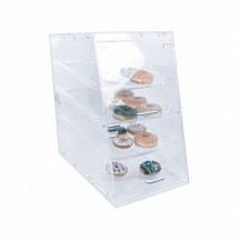 Thunder Group PLDC002 Acrylic Pastry Display Case with 4- Trays