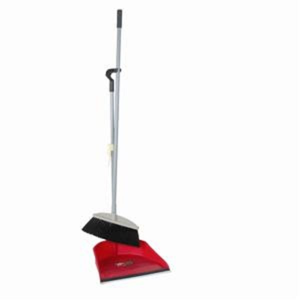 Thunder Group PLDP003 Fish Style Dust Pan & Broom Set - 1 doz