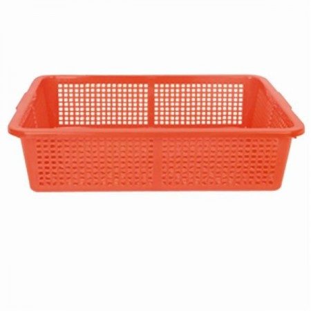 "Thunder Group PLFB001 Plastic Square Colander 21-3/4"" x 17"""