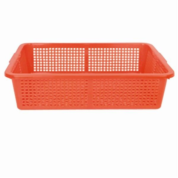 Thunder Group PLFB002 Plastic Square Colander 19-3/4""