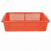 Thunder Group PLFB004 Plastic Square Colander 15-1/4""