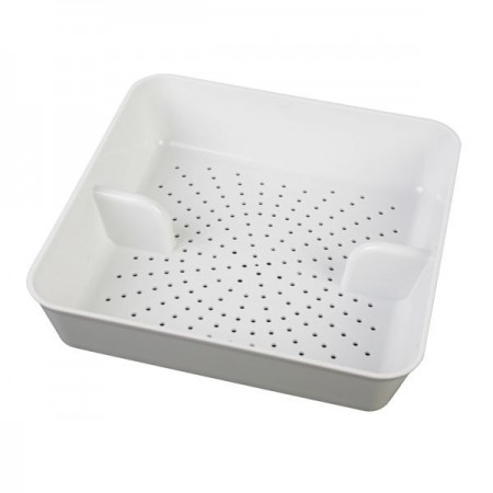"""Thunder Group PLFDS285 ABS Floor Drain Strainer 8-1/2"""" x 8-1/2"""" - 1 doz"""