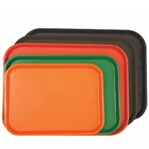 """Thunder Group PLFFT1418 Food Tray 14"""" x 17-3/4"""" - 1 doz"""