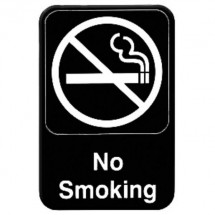 Thunder Group PLIS6912BK NO SMOKING Sign - 1 doz