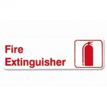 Thunder Group PLIS9316RD FIRE EXTINGUISHER Sign