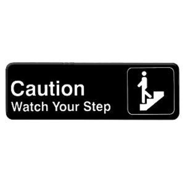 Thunder Group PLIS9329BK WATCH YOUR STEP Sign - 1 doz