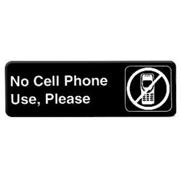 Thunder Group PLIS9332BK NO CELL PHONE USE Sign - 1 doz