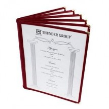 Thunder-Group-PLMenu-6MA-8-1-2--X-11--6-Page-Book-Fold-Menu-Cover---10-pcs