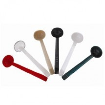 Thunder Group PLOP013 Polycarbonate One-Piece Ladle 1 oz. - 1 doz