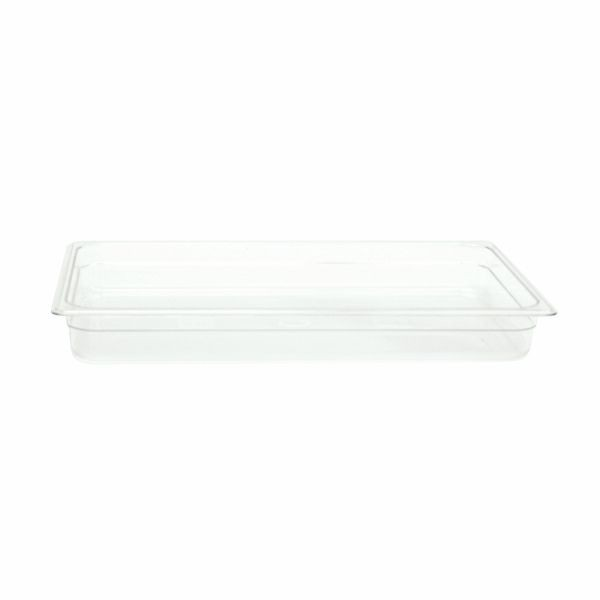 "Thunder Group PLPA8002 Full Size Polycarbonate Food Pan 2-1/2"" - 1/2 doz"