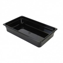 "Thunder Group PLPA8004BK Full Size Food Pan 4"" - 1/2 doz"