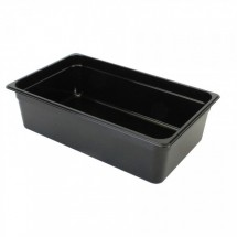 "Thunder Group PLPA8006BK Full Size Food Pan 6"" - 1/2 doz"