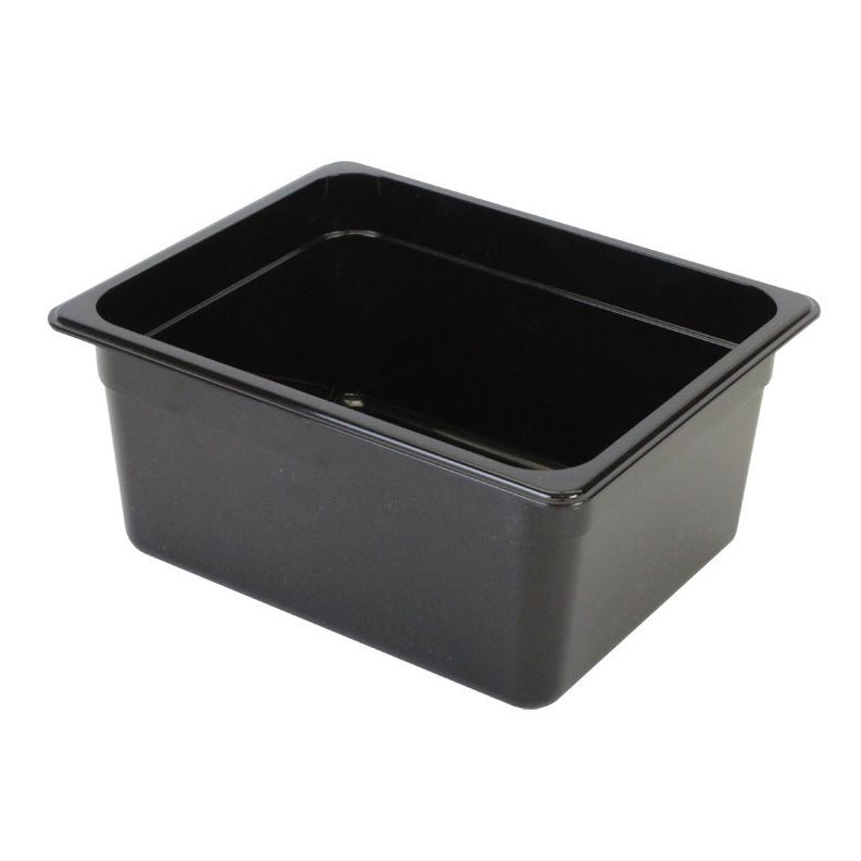 "Thunder Group PLPA8126BK Half Size Food Pan 6"" - 1/2 doz"