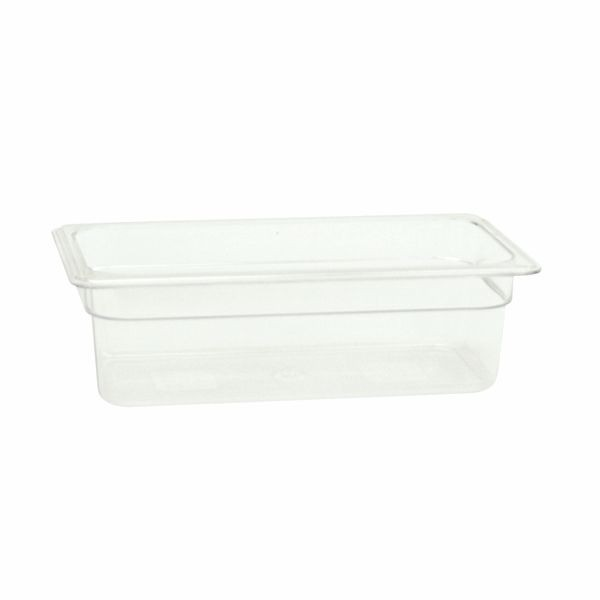 "Thunder Group PLPA8134 Third Size Food Pan 4"" - 1 doz"