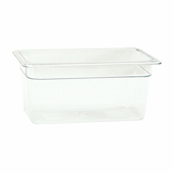"Thunder Group PLPA8136 Third Size Food Pan 6"" - 1/2 doz"