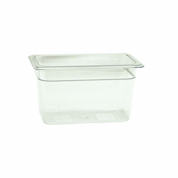 "Thunder Group PLPA8146 Quarter Size Food Pan 6"" - 1/2 doz"