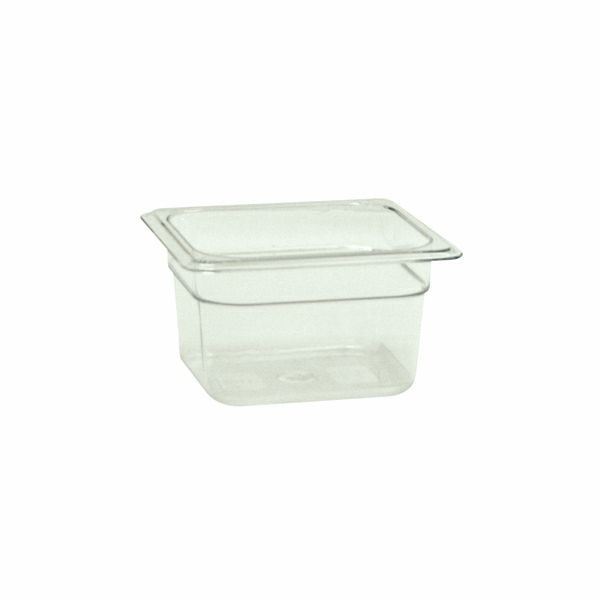 "Thunder Group PLPA8164 Sixth Size Food Pan 4"" - 1 doz"